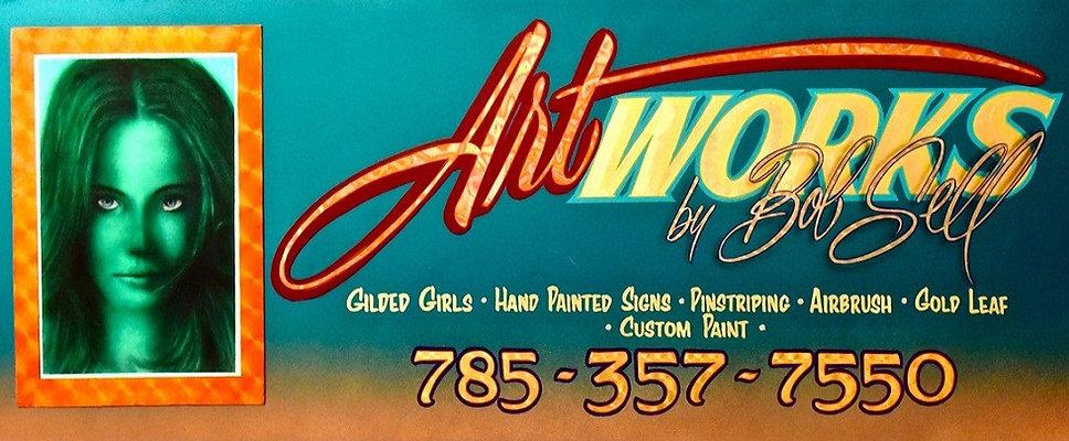 Artworks Bob Sell Business Card