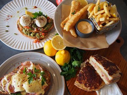 Cafe Breakfast Brunch