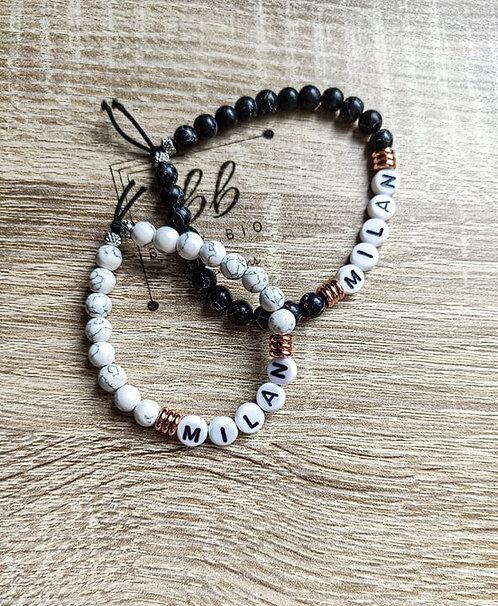 Bracelet marbré