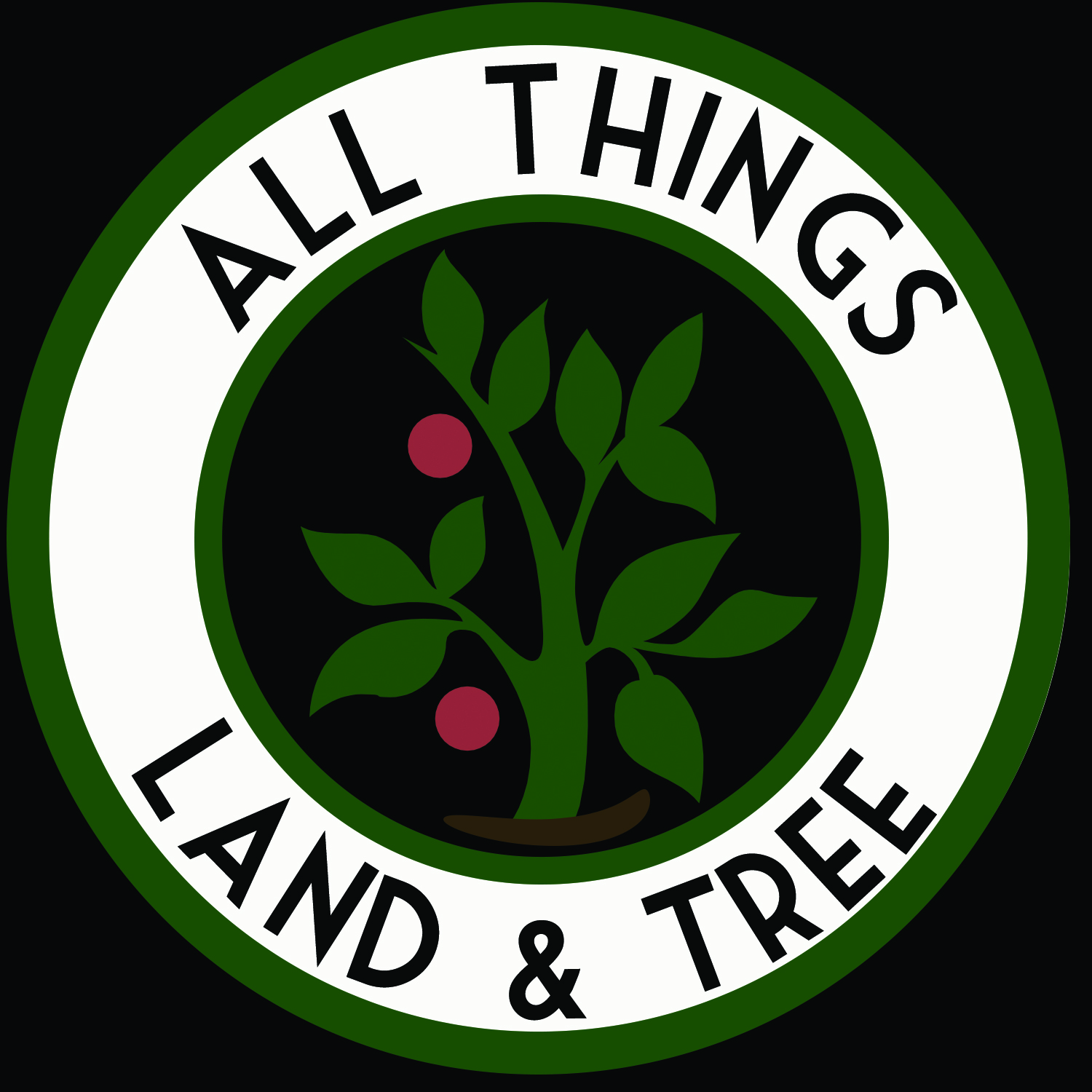 All Things Land and Tree Logo Design