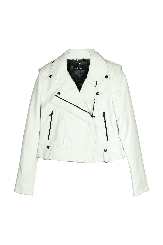 2- Nicole Classic Jacket White