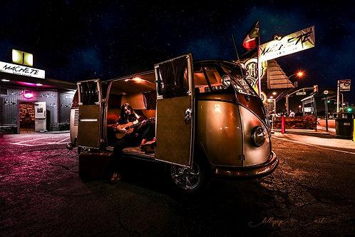 Zacarias VW Bus Print - 8 X 12