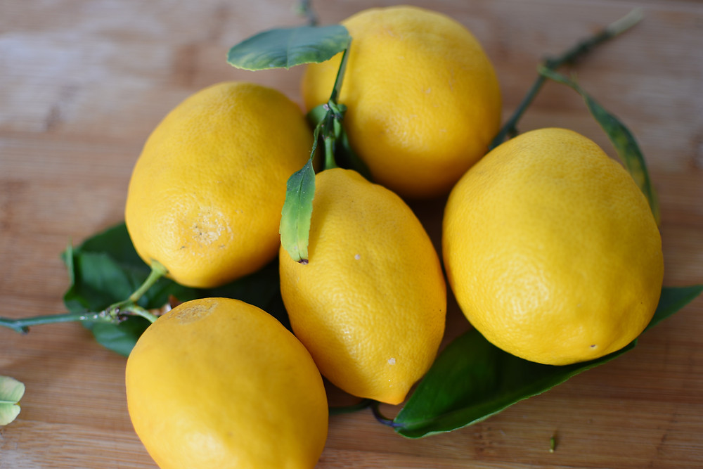 Fresh Meyer Lemons