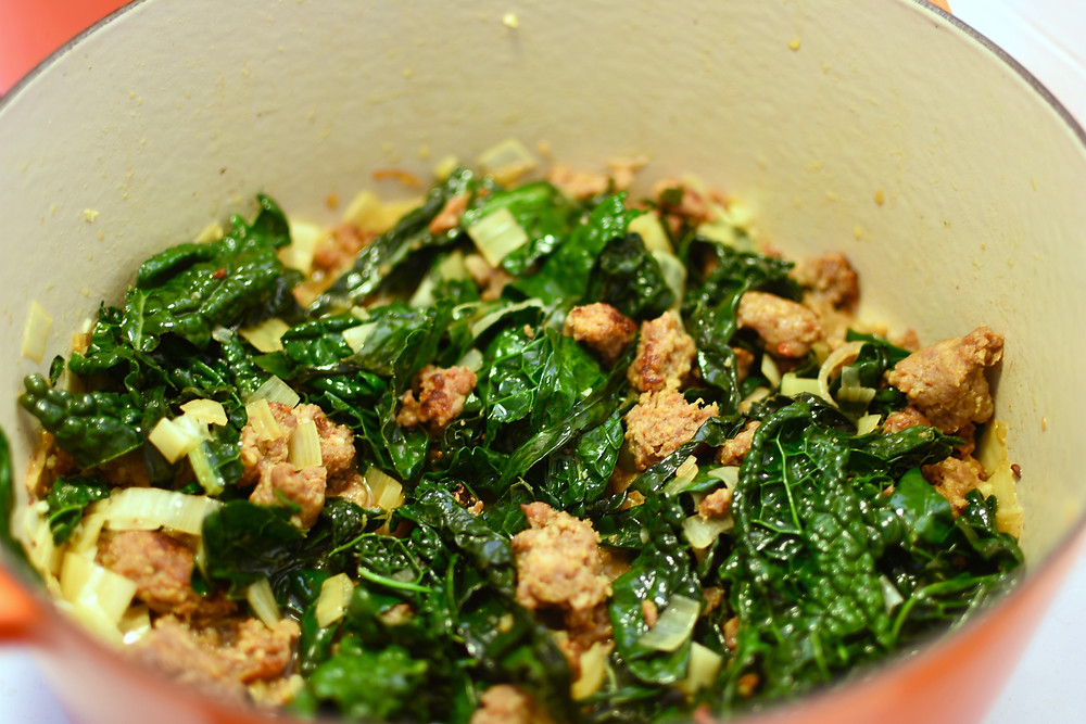 Tuscan Kale and Sausage