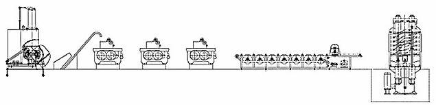 EVA Sheet Production Line. Polytag - Manufaturer of EVA Sheets for Footwear, Sole Sheets, Rubber Cow Mats, Kabaddi Mats, Interlocking Mats.