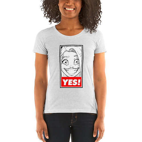 YES! Ladies' short sleeve t-shirt