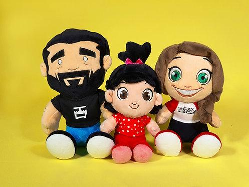 Devir Family Plush Toys