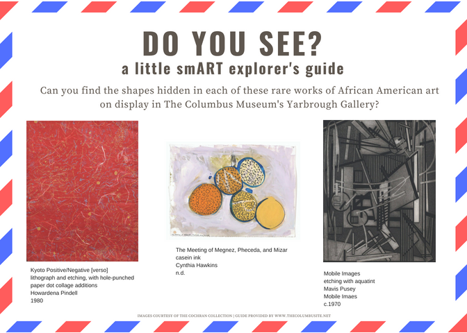 little smART explorers guide, the Columbusite, abstract, art education