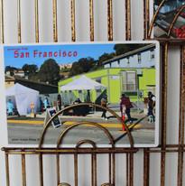 25th Street, Potrero Hill district, San Francisco   Photo taken on January 25, 2020 at 11:35am, by Xiaojie Zheng