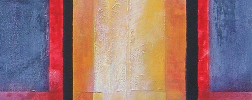 Transformation, 2004 Acrylic and mixed media on stretched canvas