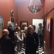 Gallery tour group, 2018
