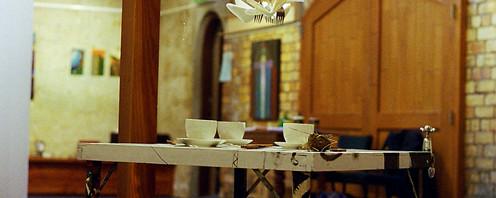 The Coffee Table, 2004 Collaborative installation Photo: Sue Hill