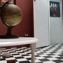 Gallery view - Brown Room to Castelli Atrium