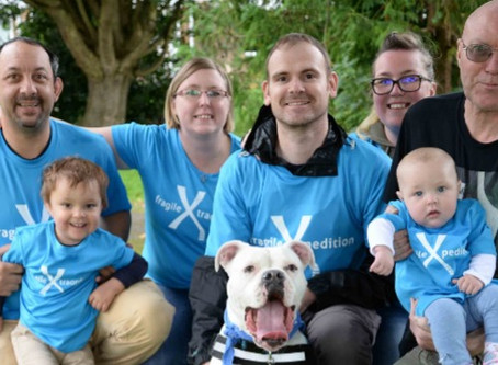 We need you to help us raise awareness of Fragile X Syndrome all the way around the UK!