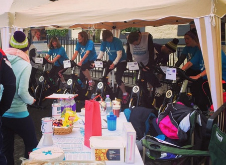 Pedal power raises £2,500 for The Fragile X Society!