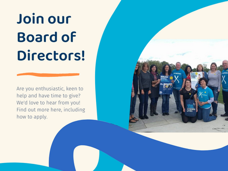 Are you interested in joining the Board of Directors?