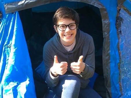 Darcy's 26 Hour 2.6 Tent Challenge