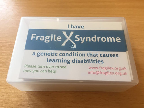 Assistance Cards (100) in plastic box case