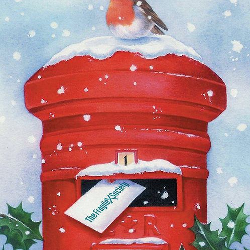 Post Box Charity Christmas Card