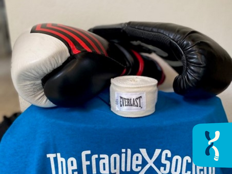 Fighting for Fragile X: Pete's Boxing Match