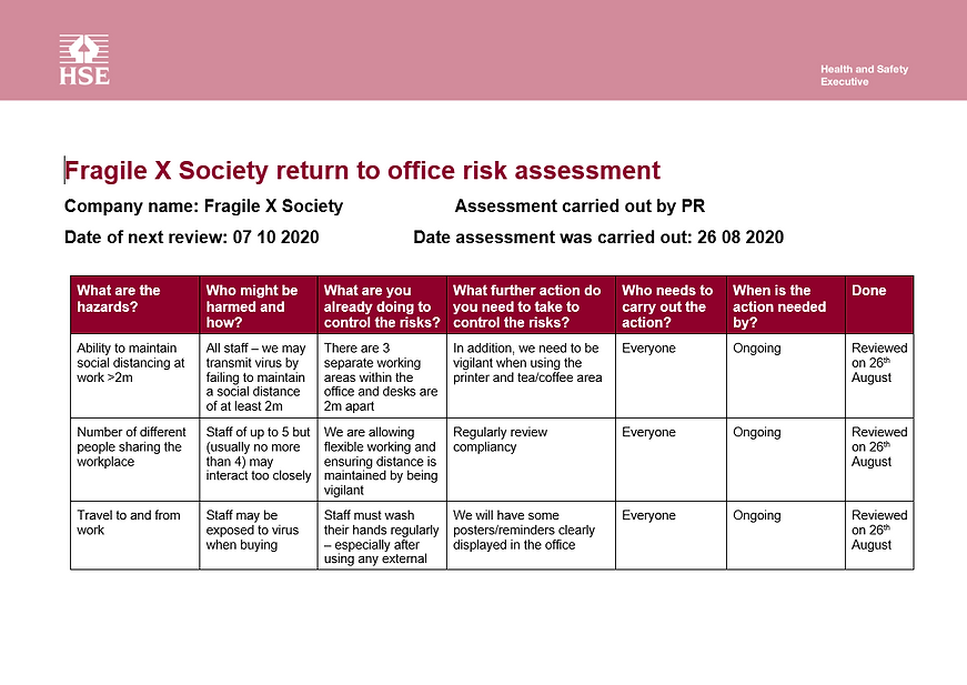 Covid 19 Risk Assessment page 1.PNG