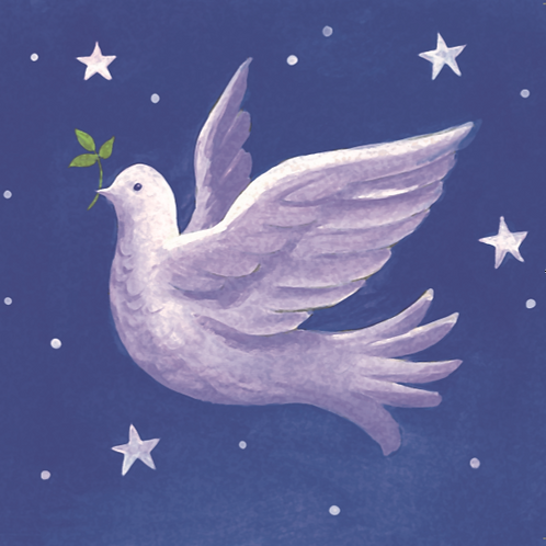 'Dove' Charity Christmas Card