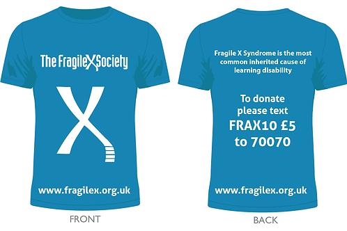 Fragile X Society t-shirt