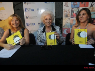 """La presentación fue en el Museo Evita """"Estoy feliz porque en la agenda de la identidad va a figurar"""