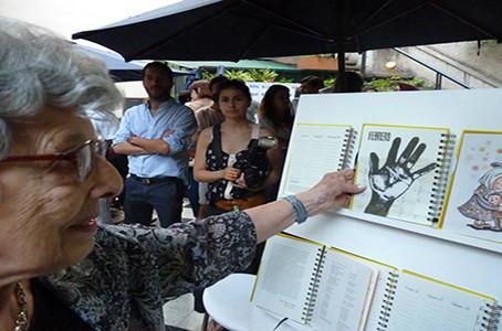Estela de  Carlotto y Cristina Álvarez Rodríguez presentaron la Agenda de Identidad 2015