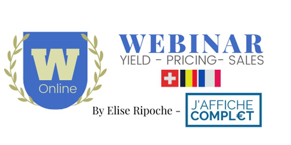 WEBINAR : Pricing & Yield : post coronavirus