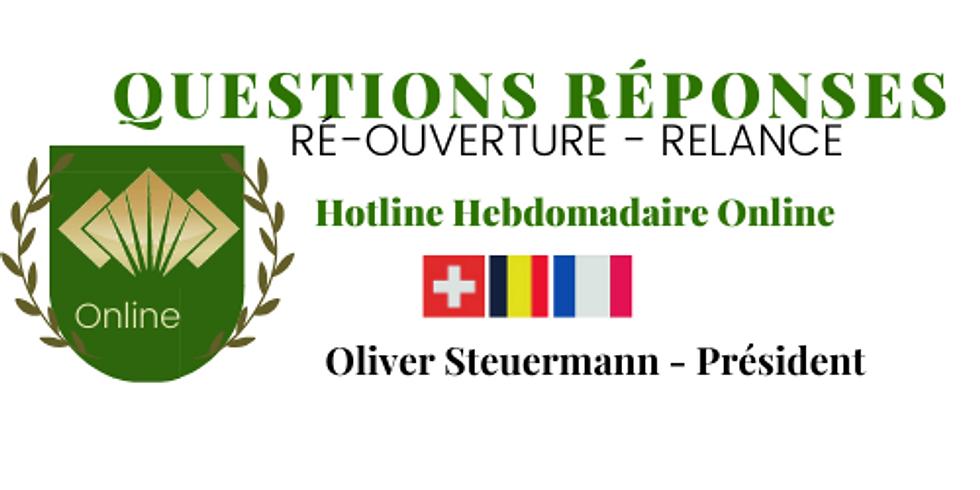 Questions Réponses Hebdomadaire: 23 juin: se relancer Post Covid