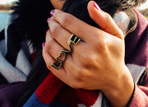 Love Uncovered Ring