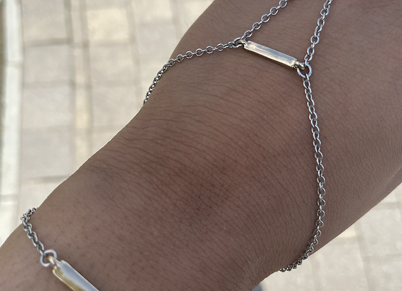 Silver Lining Hand Chain
