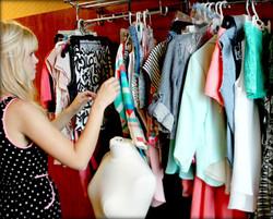 Preparing for the Fashion Show