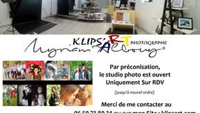Info Ouverture du Studio Photo