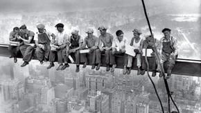 Une photo, une [H]istoire : Déjeuner au sommet d'un gratte-ciel