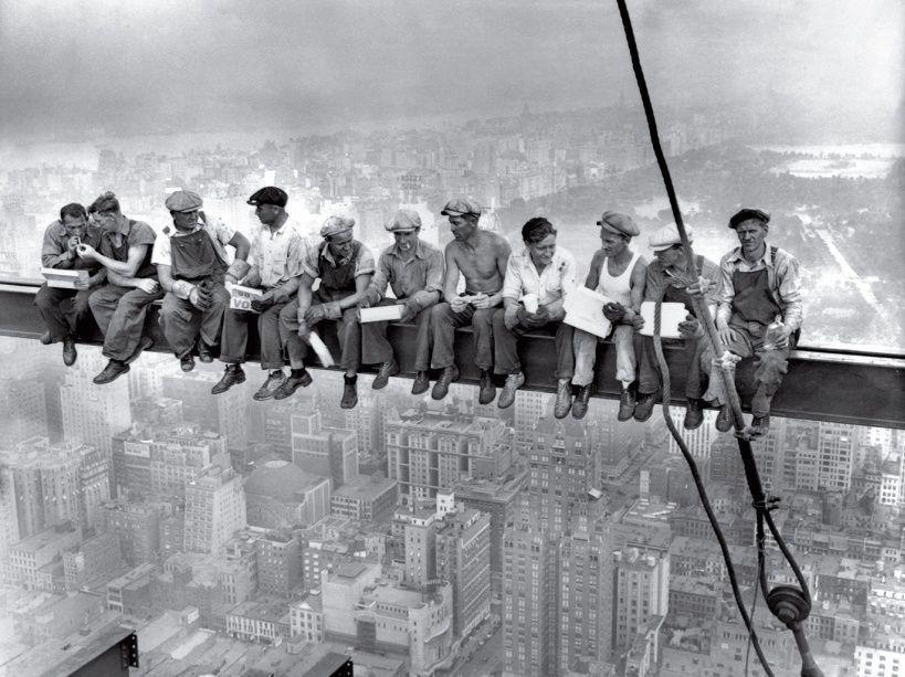 Déjeuner au sommet d'un gratte-ciel - 1932 - auteur inconnu