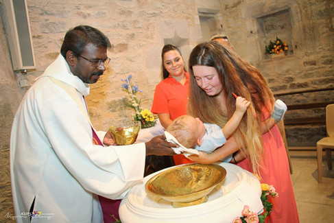 Exemple Baptême civil & Religieux