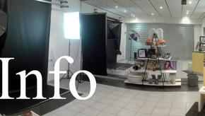 Nouvelles informations d'ouverture du Studio Photo