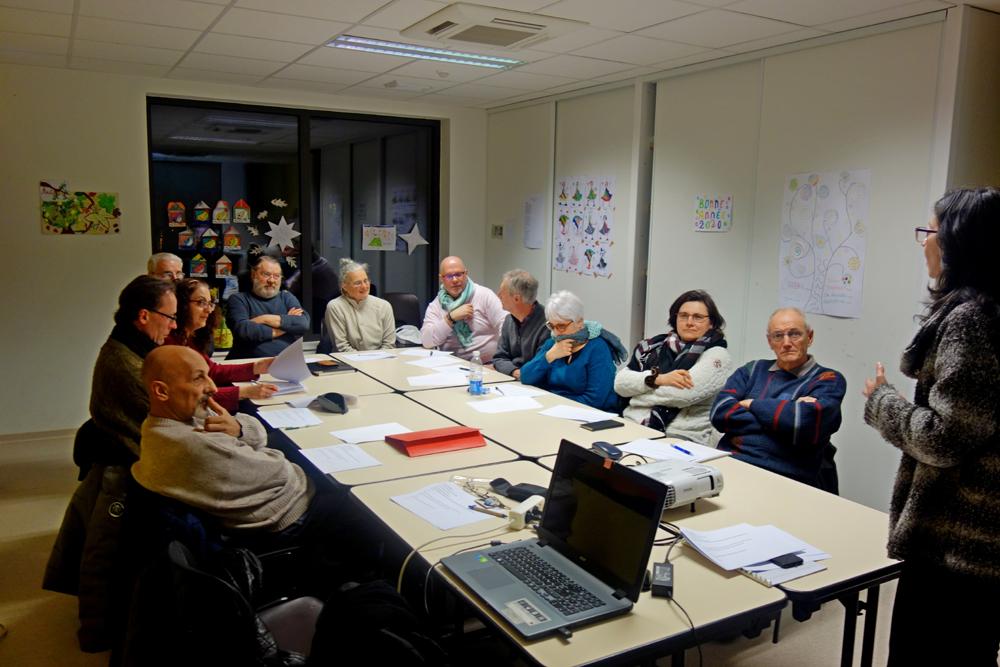 """""""Droits à l'image/Droits d'auteur - Intervention de Myriam Albouy invité de Focale 12, Decazeville"""" © 2020 - Jean-Jacques Feral"""