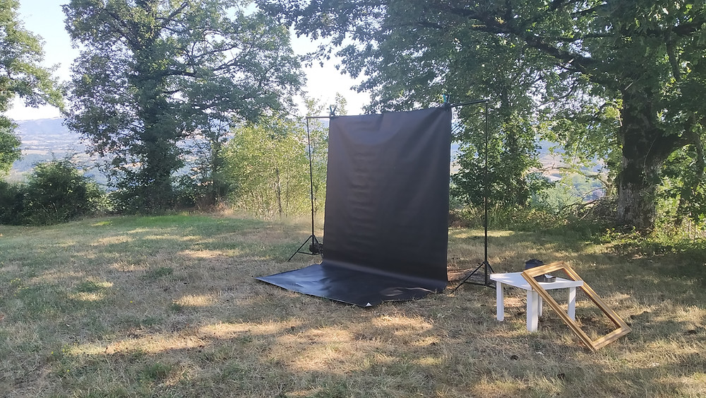 Studio Mobile en extérieur - © Myriam Albouy - Aveyron