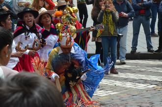 Christmas Parade - Cuzco, Perú