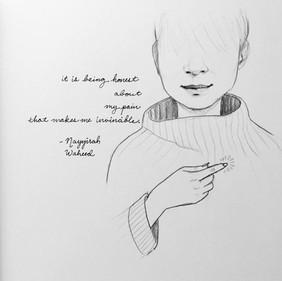 series on poetry by Nayyirah Waheed
