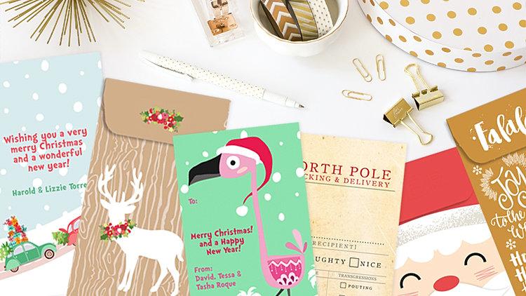 postscript-designs | Christmas Money Envelopes