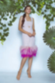 BLUSH TUBE DRESS W_ OMBRE FEATHERS.jpg