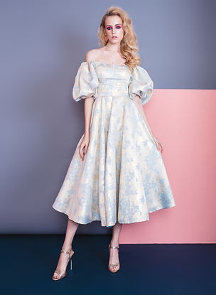 DUSTY BLUE PUFF SLEEVE DRESS .jpg