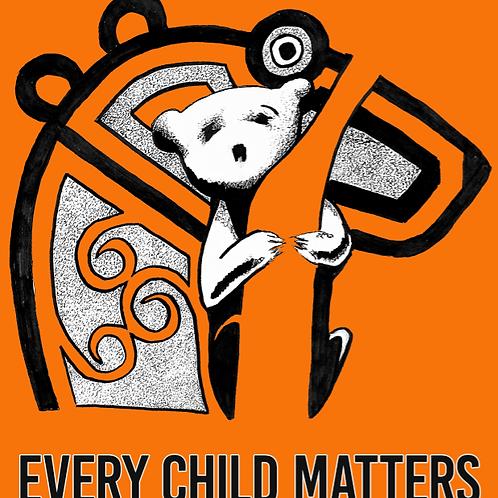 Every Child Matters orange t-shirt