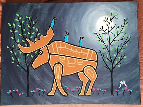 Night Moose