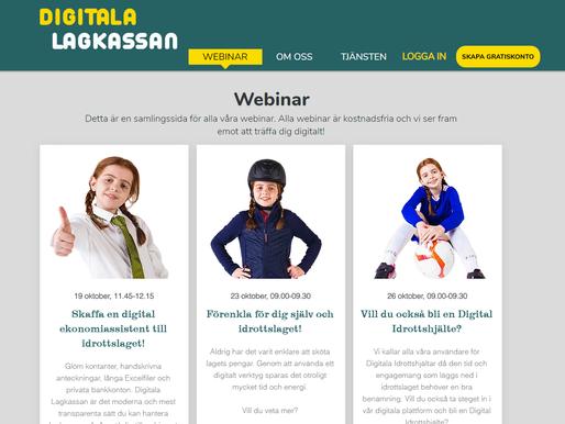 Kostnadsfria Webinar till folket!