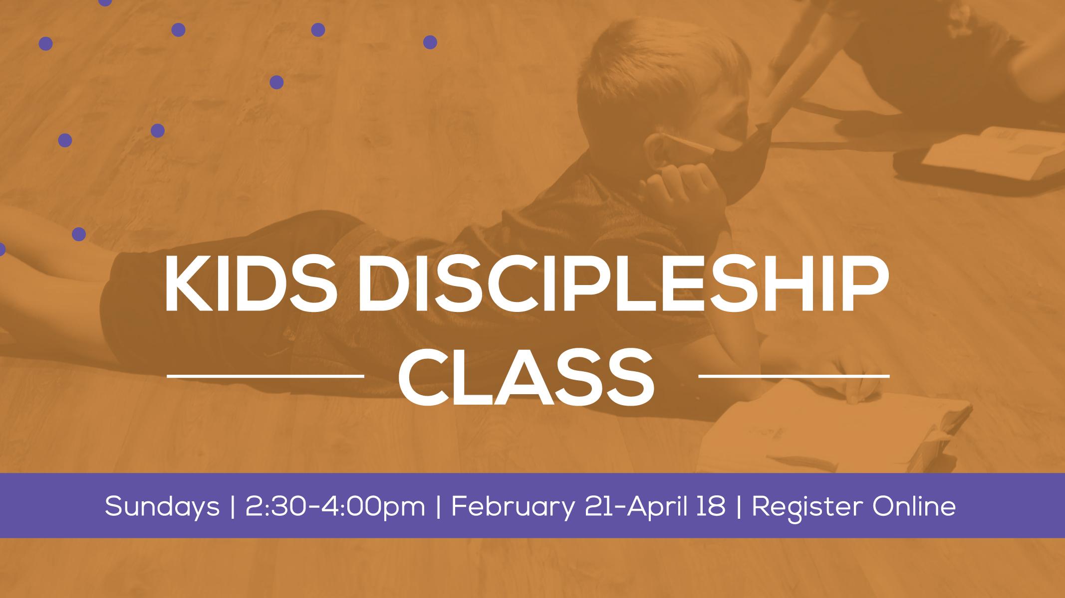 Discipleship Class 2021-01